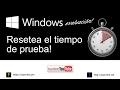 Activar o Desactivar ¡Modo de Prueba! en Windows 10 - YouTube