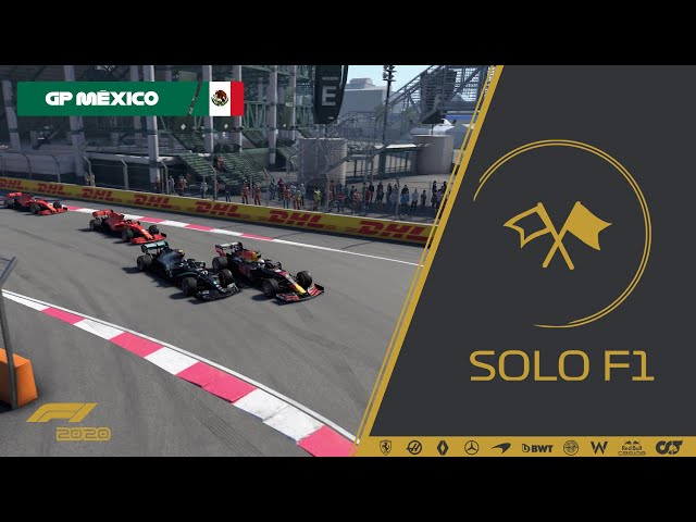 🔴 F1 2020 // Retransmisión SoloF1 (Gp Mexico)