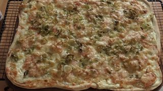 Flammkuchen mit Lachs Thermomix®TM5 Pampered chef®