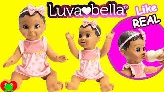 Luva Bella Baby Doll Like Real Baby