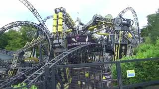 Video The Smiler, Alton Towers off ride - August 2017 download MP3, 3GP, MP4, WEBM, AVI, FLV November 2017