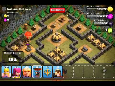 Clash of Clans - Hench Hunters - Natural Defense level 30