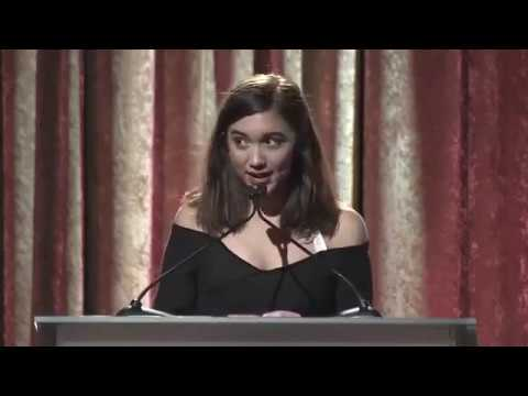 Rowan Blanchard's speech at