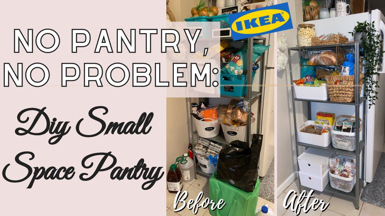 Storage Solutions For Small Kitchen Diy Pantry Pantry Organization Snack Storage Milove Of Life Youtube