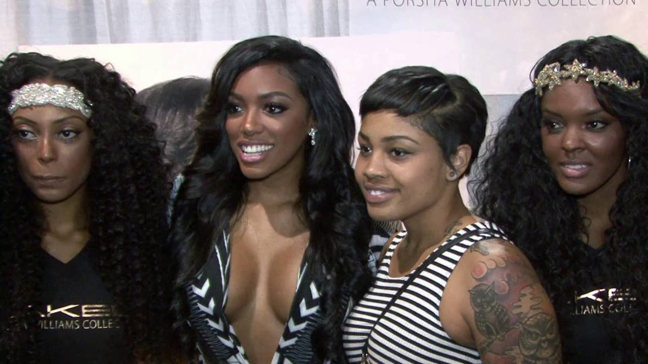 Reality TV Stars at Bronner Brothers Hair Show Summer 2k15