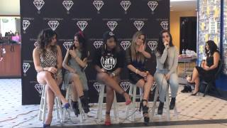 Fifth Harmony, Indianapolis: soundcheck + q&a