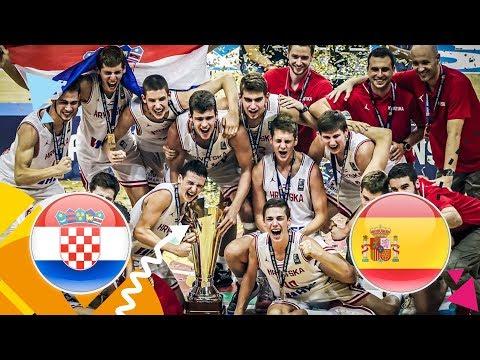 Reprezentacija U16 - Prvaci Europe - Cijela utakmica: Croatia - Spain