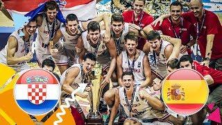 Croatia v Spain - Final - Full Game - FIBA U16 European Championship 2018
