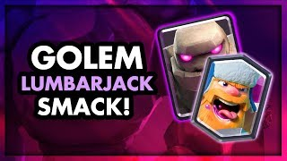 Best Golem Deck Curly Night Witch For Ladder In Clash Royale