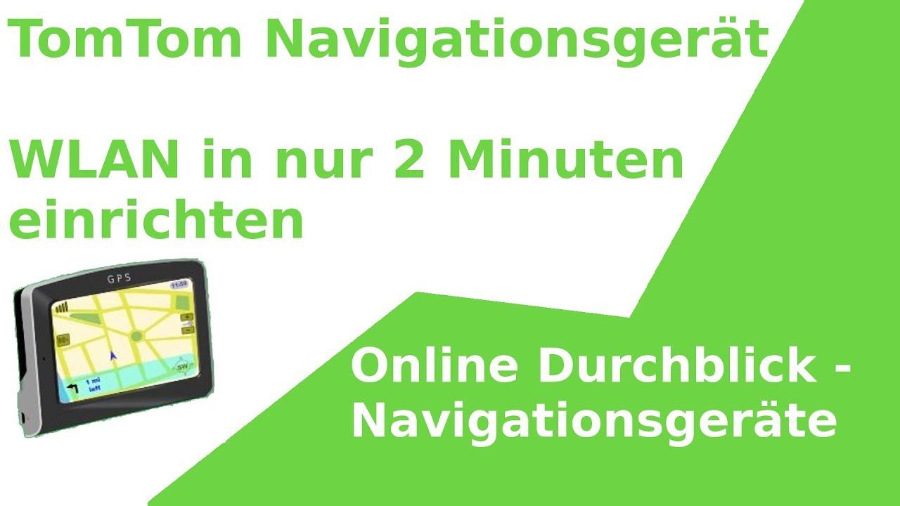 TomTom Wifi / WLAN Update in 2 Minuten einrichten