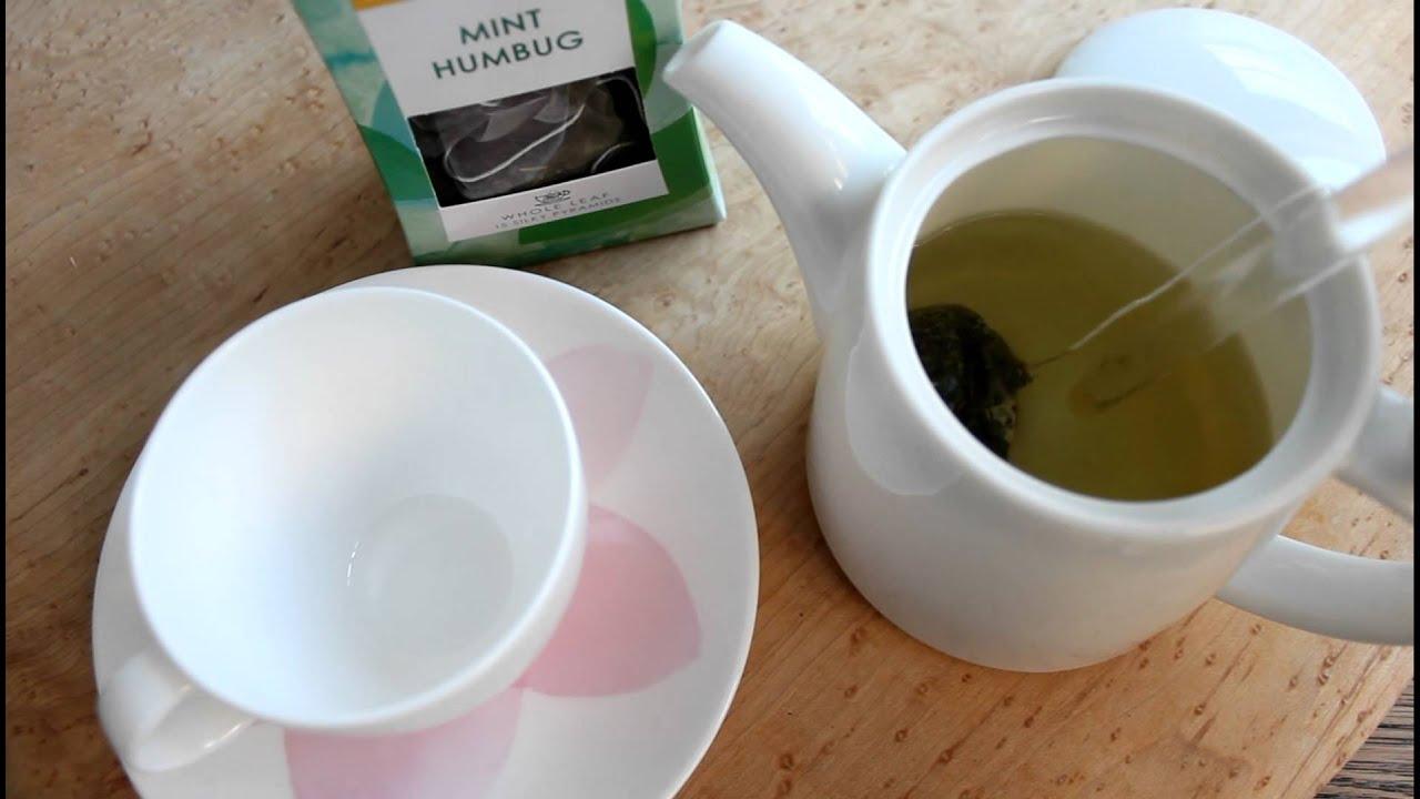 how to make mint leaf tea