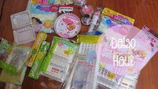Daiso Haul - Japanese $1.50 Store