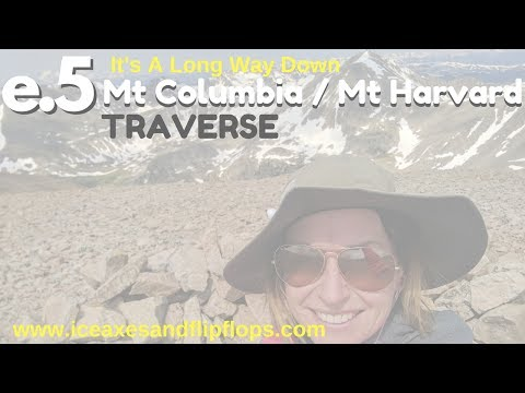 e5. Mt Harvard and Mt Columbia Traverse - Adventure travel blog - climbing in Colorado