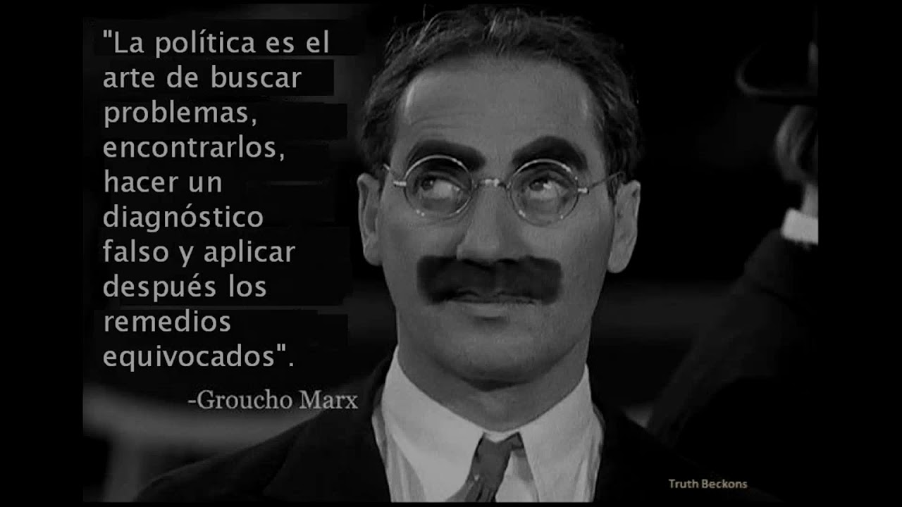 Frases De Groucho Marx Youtube