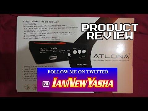 Atlona HDMI A/V scaler AT-HD560 - Ian New Yasha: The Final Act