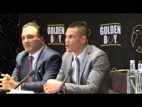 ANTHONY OGOGO (WITH RICHARD SCHAEFER) & GOLDEN BOY PROMOTIONS PRESS CONFERENCE / iFILM LONDON