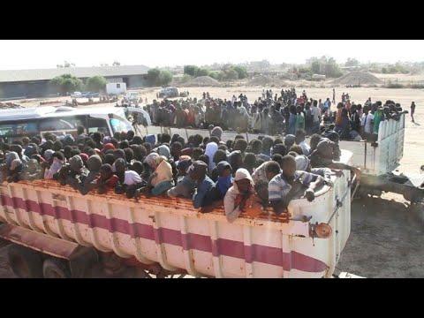 More than 3,000 migrants arrested in Libya smuggling hub