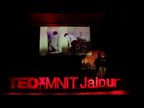 Safer Roads - A Route To Better World | Chetan Pardeshi | TEDxMNITJaipur