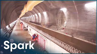 Inside The Largest Construction In Europe | Drones in Forbidden Zones | Spark