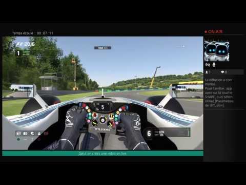 F1 2016 Petite course a SPA