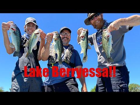 Bass Fishing Lake Berryessa! 2020