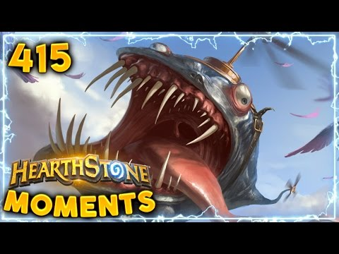 How to Make enemy CONCEDE! | Hearthstone Un'Goro Daily Moments Ep. 415 (Funny and Lucky Moments)