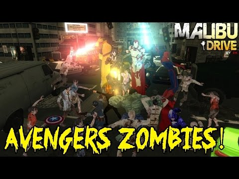 ★ MALIBU DRIVE ZOMBIES: Trailer & Preview ★ AMAZING AVENGERS MAP! (Sequel to Cheese Cube Unlimited)