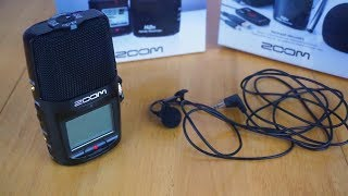 New Audio Hardware - Zoom H2n & Giant Squid Lavalier Microphone