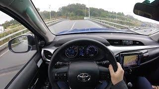 Toyota Hilux 2018 2.4 150D VXL POV Test Drive