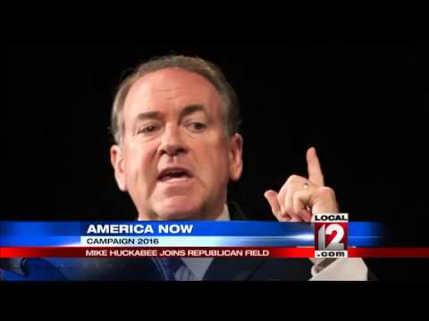 Huckabee, the other man from Hope, opens 2016 bid