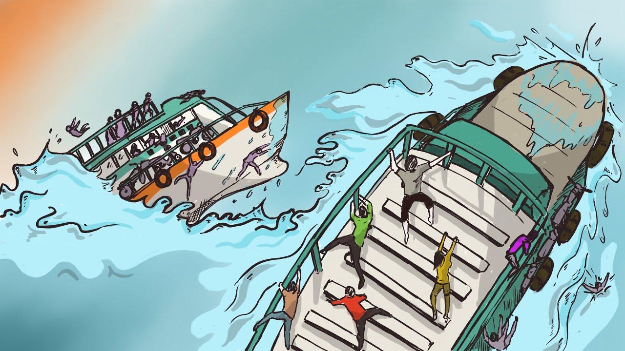 Misteri Tenggelamnya KM SINAR BANGUN di Danau Toba | Cerita Bergambar