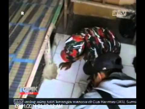 [ANTV] TOPIK Ormas Duduki Lahan Waduk Ria-rio  Ditangkap Polisi
