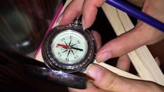 Выпуск 5. Измерения с помощью различных компасов.