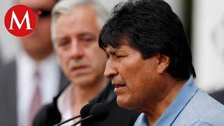 Trasladan en helicóptero a Evo Morales