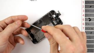 iPhone 4S Home Button Replacement Disassembly and Reassembly - CRAZYPHONES(, 2013-05-18T10:36:42.000Z)