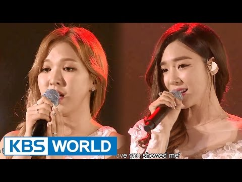 Tiffany & Wendy - Dear Mom [2015 KBS Song Festival / 2016.01.23]