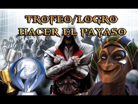 Assassins creed  la hermandad Trofeo/logro Hacer el payaso