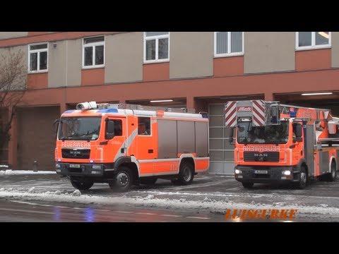 LHF 20/12 Allrad mit Wasserwerfer + DLK BF Berlin FW Wittenau