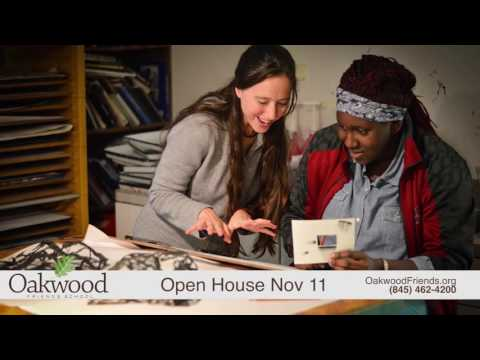 Oakwood Friends School Open House November 11
