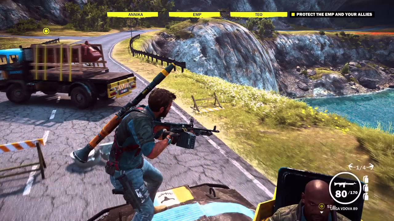 Ps4Shared Funny Vidz - Just Cause 3, Annika just doesn't care...