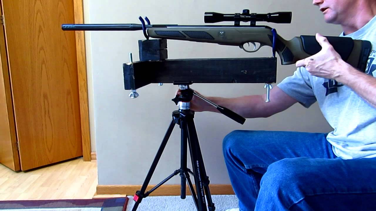 Merveilleux Homemade Rifle Rest / Stand $5 Part 2   YouTube