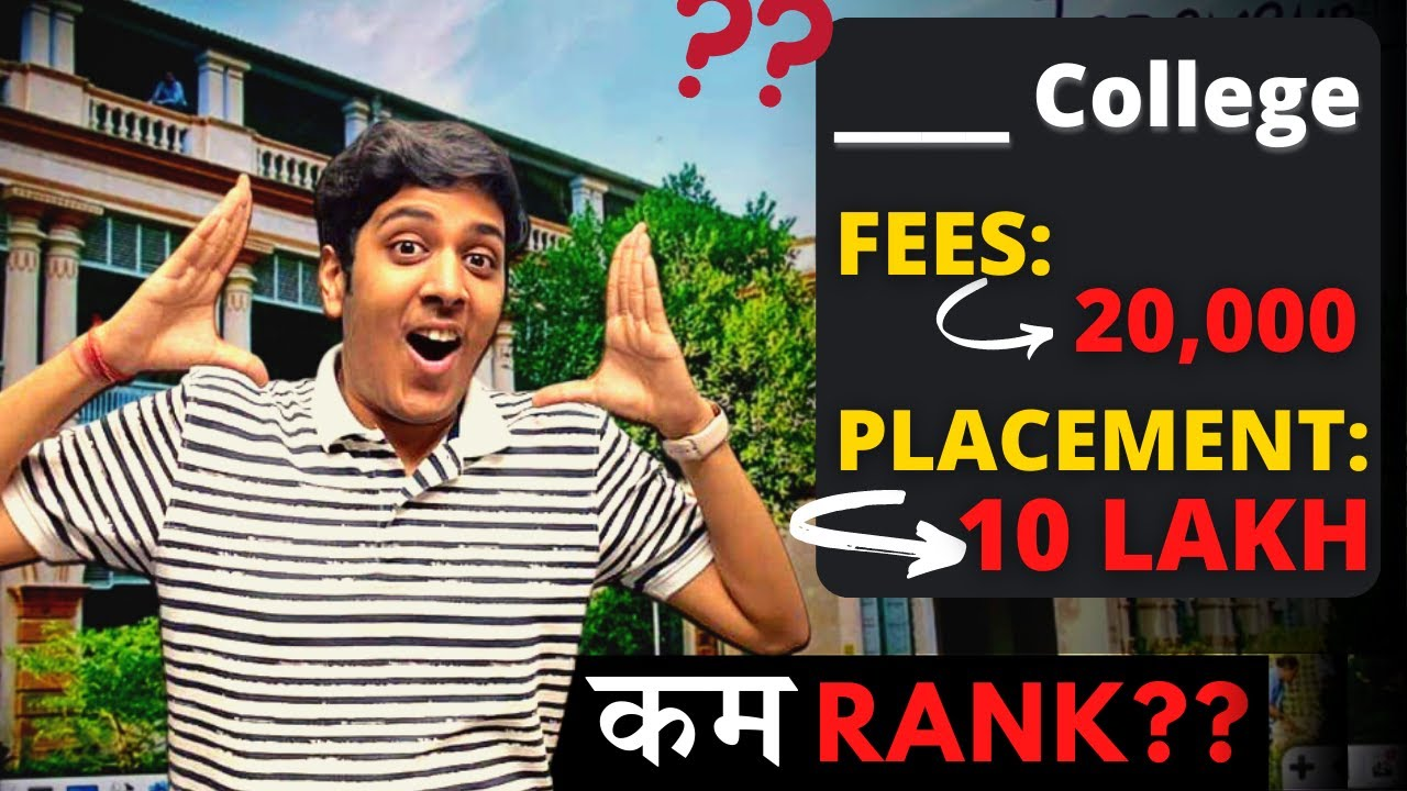B.Tech Fees: 20 Thousand, Placement: 10 Lakh🔥| Don't Miss!❌