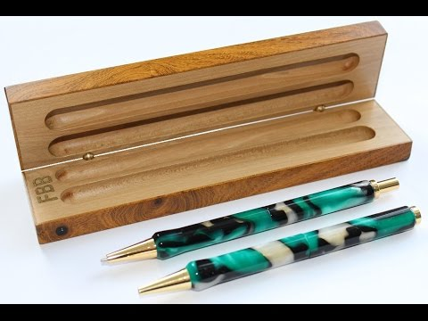 Pen and Pencil Case from Laburnum and Holly
