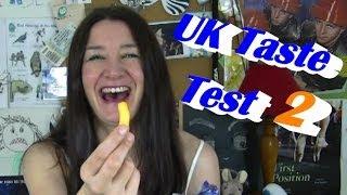 UK Food Taste Test 2 in a Frazzle