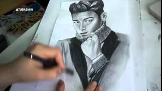 Big Bang T O P   drawing