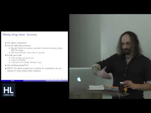 (Easy) High Performance Text Processing in Machine Learning by Daniel Krasner
