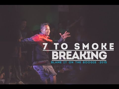 7 to Smoke BREAKING | BLAME IT ON THE BOOGIE - 2015 | Hyderabad