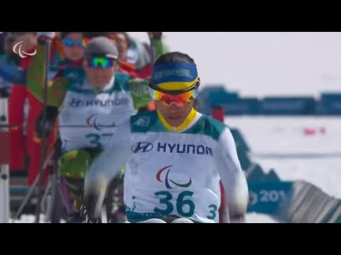 Cross-country skiing: Women's long distance sitting   2018 …