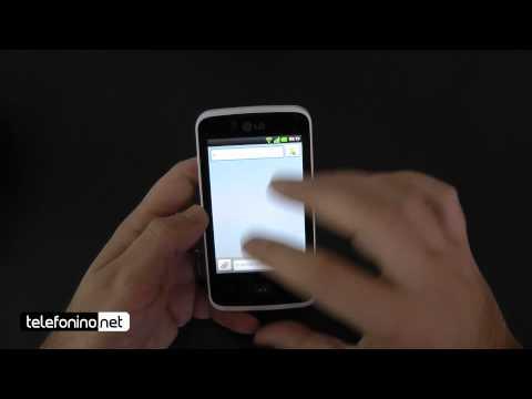 LG Optimus Hub Video clips