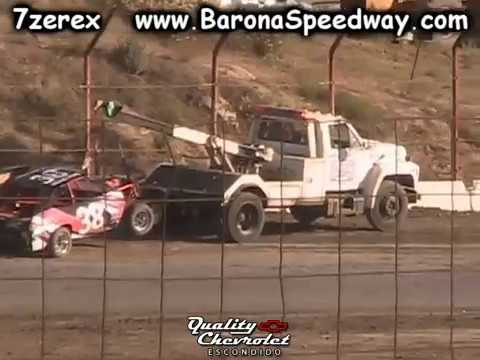 Stock pony Heat 1 Barona Speedway 7-1-2017